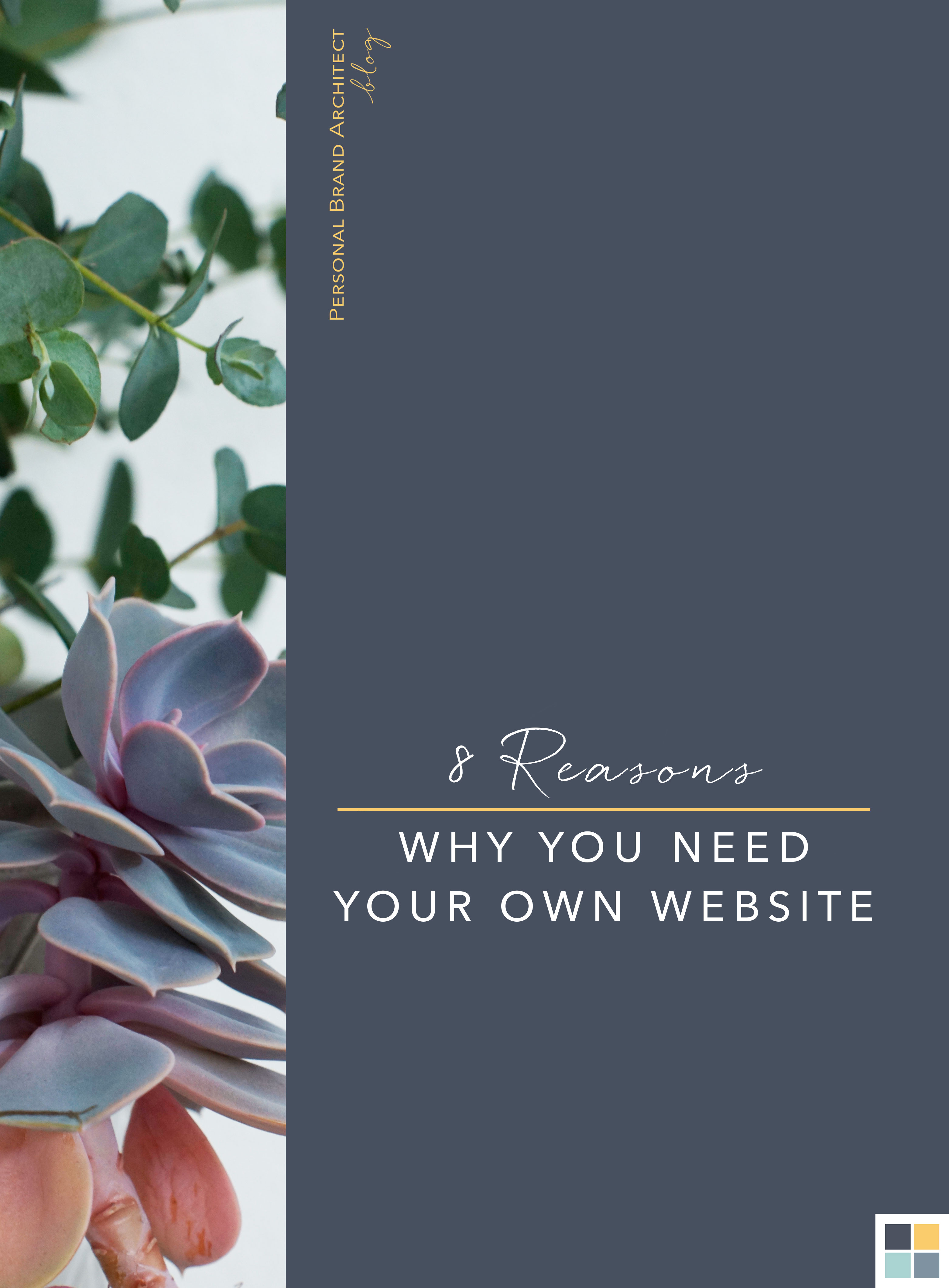 8 reasons why you need a personal website