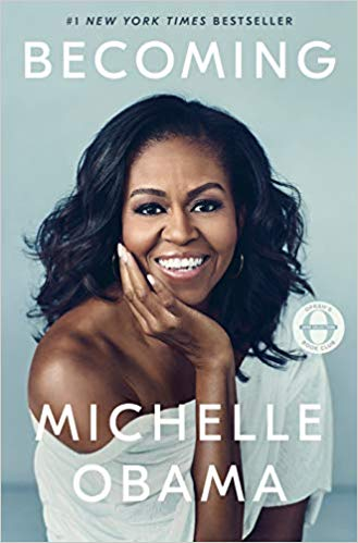 Book Cover - Becoming by Michelle Obama
