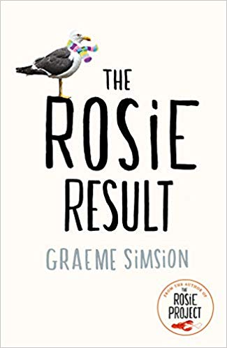 Book Cover -The Rosie Result by Graeme Simsion