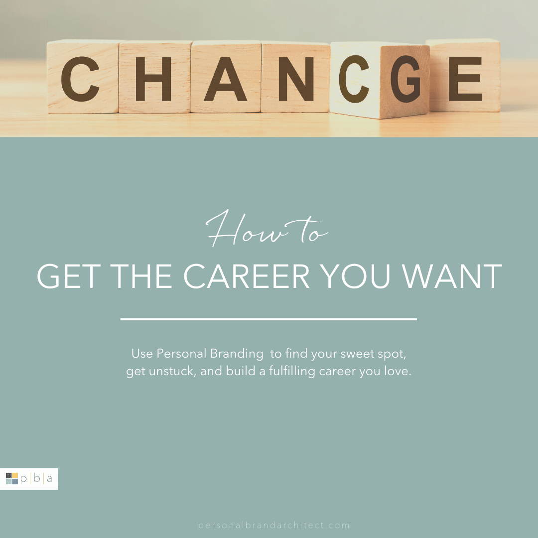 Chance/Change - How to get the career you want