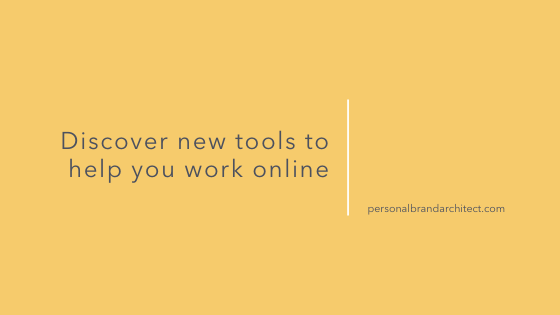 Discover new tools to help you work online