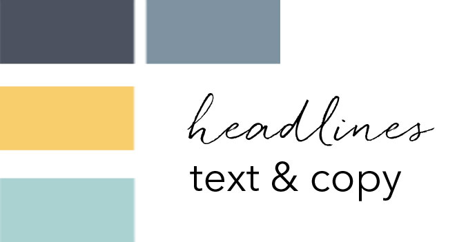 Personal Brand Architect fonts and brand colours before rebranding