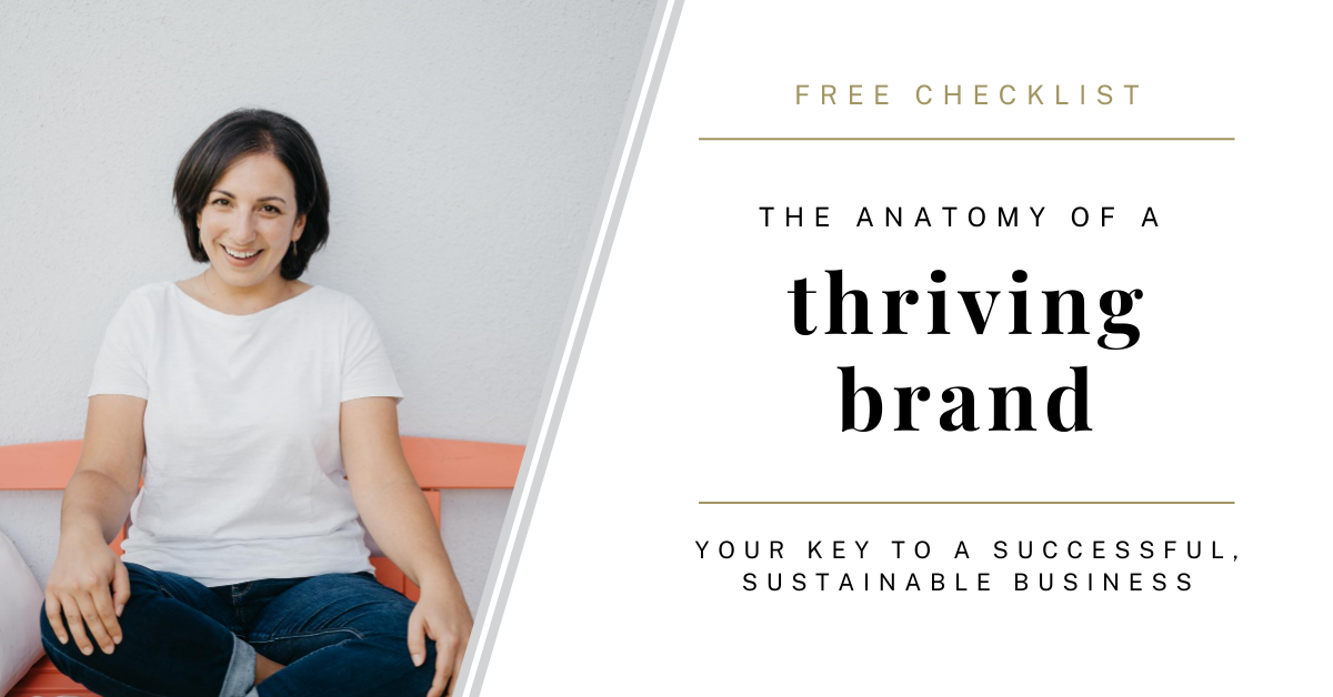 the anatomy of a thriving brand with Karina Schwarzenböck the personal brand architect