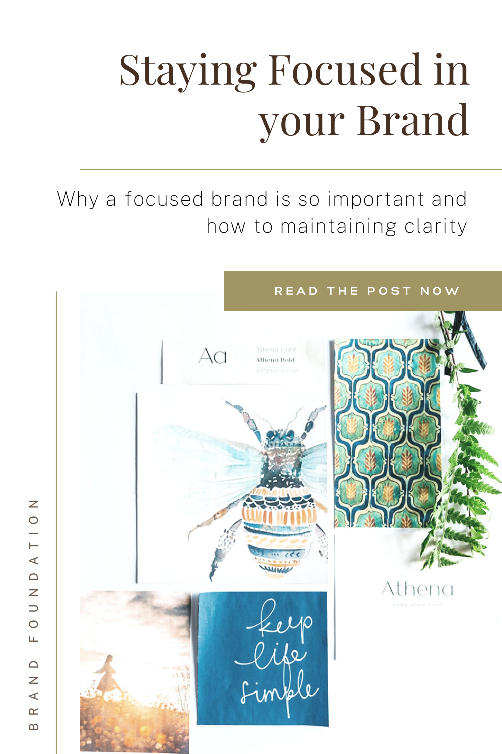 staying focusing in your brand by personal brand architect