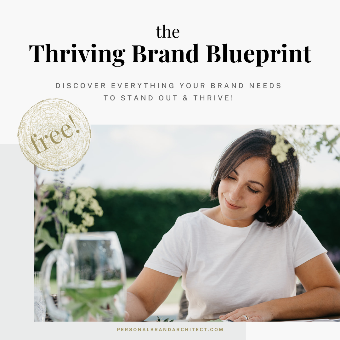 thriving brand blueprint