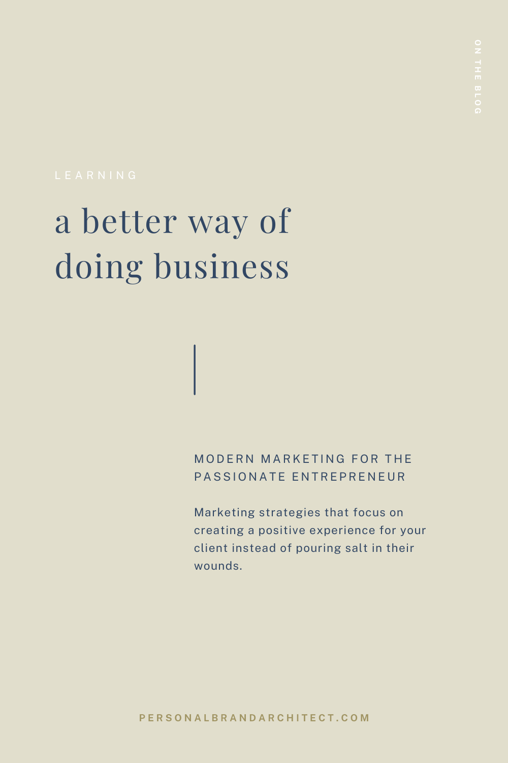 a better way of doing business